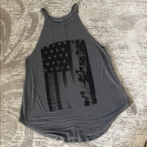American Eagle soft and sexy high neck tank